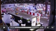 IFT 2012 #IFT12 recap #video with DDW http://www.ddwcolor.com/ift-food-expo-2013-preview