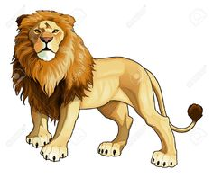 Lion King Cartoon Stock Vector Illustration And Royalty Free Lion ...