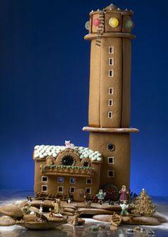 Gingerbread house: Bengtskär lighthouse