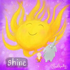 Buddha doodle  Shine
