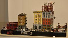 Flickr Lego Table, Lego Modular, Cool Lego Creations, Lego Design, Lego Building, Lego City, Legos, Awesome Lego, Lego Stuff
