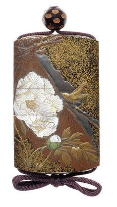 A lacquer four-case inro By Koma Yasutada, 19th century
