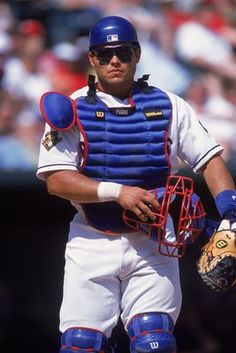Pudge Rodriguez~#1 or #2 all time catcher. Met him at Disney with his family. Humble  kind is how I remember him.