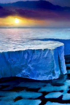 Iceberg image via WallpapersHD