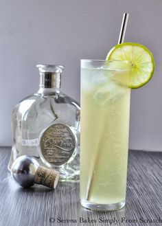 Casa Noble Honey Ginger Lime Sonata. Light and refreshing the perfect cocktail for your next gathering. #CasaNoble #Cocktail