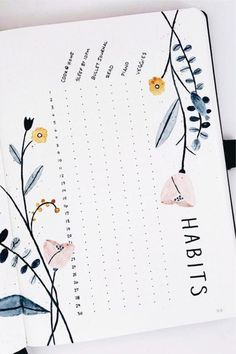 Bullet Journal Tracker, Bullet Journal School, Bullet Journal Notebook, Bullet Journal Inspiration, Bullet Journals, April Bullet Journal, Bullet Journal Timetable, Bullet Journal Monthly Calendar, Bullet Journal Weekly Layout