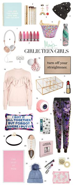Holiday Gift Guide for Girlie Teen Girls