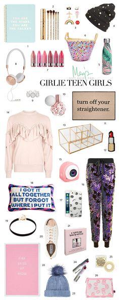 Holiday Gift Guide for Girlie Teen Girls —26 Gift Ideas!