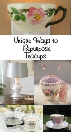 projects idea unique tea cups. Repurposed Teacup Ideas Upcycled Projects  Craft and Teas