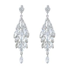 EVER FAITH Bridal Silver-Tone Teardrop Cluster Chandelier Earrings Clear Austrian Crystal EVER FAITH http://www.amazon.com/dp/B00E95XESC/ref=cm_sw_r_pi_dp_S5hxwb0CRKYFZ