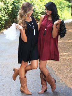 Cheer on your favorite team in these adorable Game Day dresses!  MondayDress.com #MondayDress #GameDay