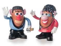 Star Trek Mr Potato Head 2 Packs-Your Choice!