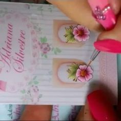 Manicure, Nails, Projects To Try, Hair Beauty, Nail Art, Design, Link, Youtube, Nail Stickers