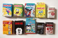 My epic Band Aid collection. That's right, I collect plasters. Whatyougonnadoaboutit?