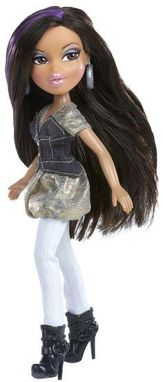 Bratz All Glammed Up Designer Streaks - Yasmin Bratz Doll Outfits, Barbie Clothes, Pretty Dolls, Beautiful Dolls, Girl Dolls, Barbie Dolls, Brat Doll, Bratz Girls, Baby Alive Dolls