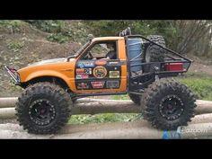 Nitro Rc Trucks, Rc Cars And Trucks, 4x4 Trucks, Toyota 4x4, Toyota Trucks, Toyota Hilux, Remote Control Cars, Radio Control, Diy Go Kart