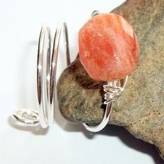 Sunstone Gemstone Ring $26