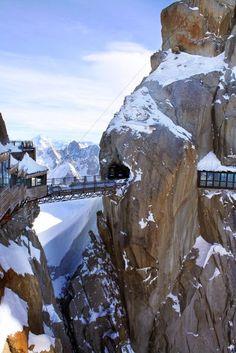 Mt. Aiguille du Midi, France   #travel #wanderlust #adventure