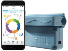 Fluid est un nouvel objet connecté qui se charge de suivre de près votre consommation d'eau pour vous permettre de réaliser des économies.