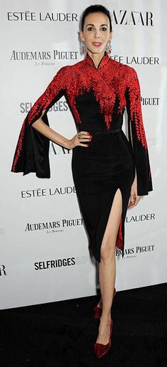 L'Wren Scott in L'Wren Scott @ Harper's Bazaar event 2013