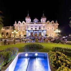 Casino Square by night - Monte-Carlo Virtual Tour