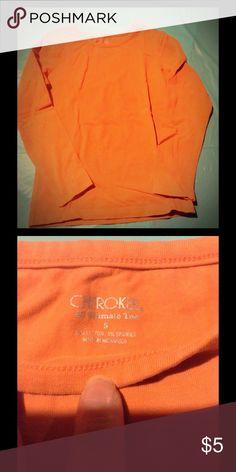Orange long sleeve girls shirt Orange long sleeve shirt ready for fall! Cherokee Shirts & Tops Tees - Long Sleeve