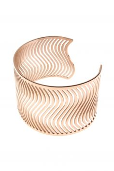 WAVE stainless steel bangle