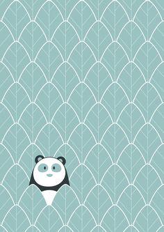 PANDA Art Print by vaughn shim