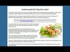 Endomorph Diet - 3 Tips That Will Always Work: Combine protein with carbs at each meal ♦ Eat your larger meals first ♦ Alternate high and low carbohydrate days (low carb 3 days, high carb on the Low Carb Recipes, Diet Recipes, Healthy Recipes, Weight Loss Detox, Healthy Weight Loss, 6 Week Body Makeover, Healthy Foods To Eat, Healthy Eating, Clean Eating