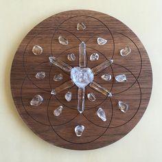 'Balance' Crystal Grid