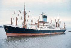 ADRASTUS built under Dutch Flag. Sold in 1978 and renamed Anassa. Broken up in Gadani Beach Merchant Navy, Merchant Marine, Ship Tracker, Sport Fishing, Motor Boats, Model Ships, Tall Ships, Water Crafts, Sailing Ships