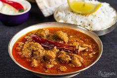 Kari s hviezdou Michelina Vindaloo, Naan, I Foods, Chili, Curry, Pork, Ethnic Recipes, Pork Roulade, Curries