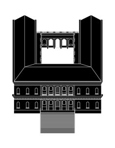 architecture - black to white Axonometric Drawing, Isometric Drawing, Architecture Student, Architecture Drawings, Parasitic Architecture, San Rocco, Architect Drawing, Graphic Design Pattern, High Contrast