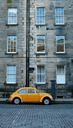 Edinburgh Tenement Flats. And three points.