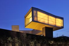 New Images: Inside Steven Holl's Sifang Art Museum ========================================== 캔틸레버