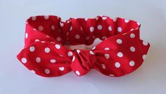 Hey, I found this really awesome Etsy listing at https://www.etsy.com/au/listing/252811959/red-polka-dot-bow-baby-headband-baby