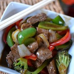 I love stir-fry. This is an easy recipe with just the right amount of spice. If you cut your veggies ahead of time and keep your wok extremely hot stir-fry is a piece of cake! All you really need is the ability to work your chop sticks well! Print Yum Spicy Beef & Pepper...Read More »
