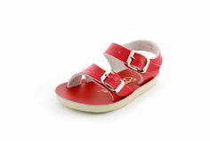 Salt Water sandal red