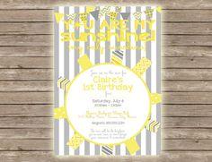 You Are My Sunshine Birthday/Baby Shower by PaperCutsStationary, $1.50