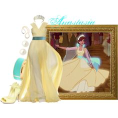 Anastasia themed outfits disney dresses, disney princess out Disney Themed Outfits, Disney Bound Outfits, Disney Dresses, School Looks, Anastacia Disney, Princesa Anastasia, Anastasia Movie, Anastasia Dress, Bon Look