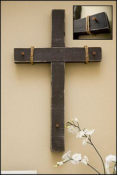 "$179.95 Church Wooden Crucifix with Nails 36"" Wall Cross Large Tetelesti Collection 