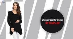 Western Wear for Women, Women Tops, Tunic Tops, Shrugs Party Wear For Women, Western Wear For Women, Western Dresses, Westerns, Fashion Dresses, Tunic Tops, How To Wear, Shirts, Fashion Show Dresses
