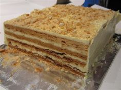 Recipe for Sansrival or Sans Rival - Buttery, nutty Filipino. You are in the right place about Fil Philipinische Desserts, Filipino Desserts, Filipino Recipes, Filipino Food, Sans Rival Cake Recipe, Cakes To Make, How To Make Cake, Sansrival Recipe, Cooking