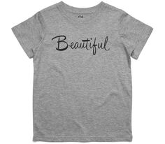 El Cheapo Beautiful (Black) Youth Grey Marle T-Shirt