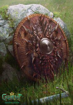 Wyvern Scale Shield - Gwent Card Game