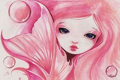 sweet mermaids | Sweet Bubbles - by Nico Niemi from mermaids