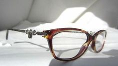 6b3576c58e20 Details about Tiffany   Co Eyeglasses Glasses Model TF 2063 8081 Spotted  Violet Authentic New