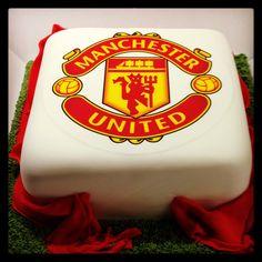 Man United Birthday Cake Asda