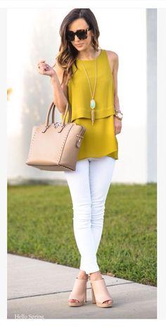Moda casual verano summer outfits for 2019 Work Fashion, Trendy Fashion, Womens Fashion, Fashion Trends, Fashion Spring, Fashion Inspiration, Style Fashion, 30s Fashion, Fashion 2017