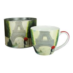 Paris Romance Big Mug in Tin